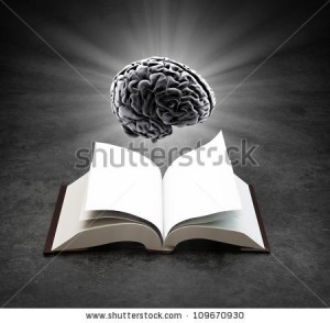 stock-photo-open-book-with-a-glowing-brain-knowledge-and-creativity-concept-109670930